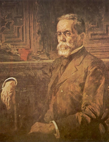 Machado de Assis por Henrique Bernardelli, de 1905