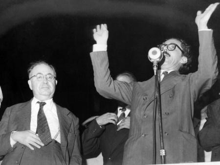 Brasil, Mandaqui, SP, 08/03/1957. Janio Quadros. Foto: Arquivo/AE Pasta: 5445