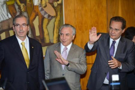 Cunha, Renan e Temer