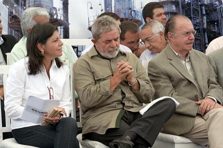 Lula, Sarney e Roseana