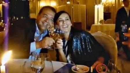 Sergio Cazbral e Adriana