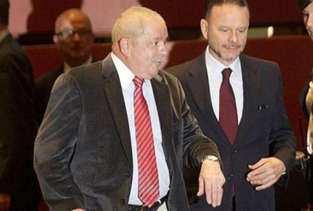 Luciano Coutinho e Lula