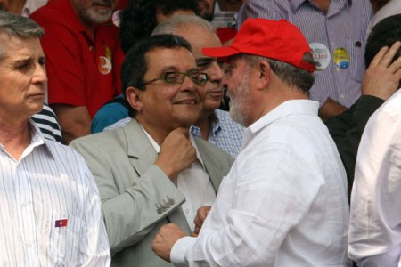 João Santana e Lula 1