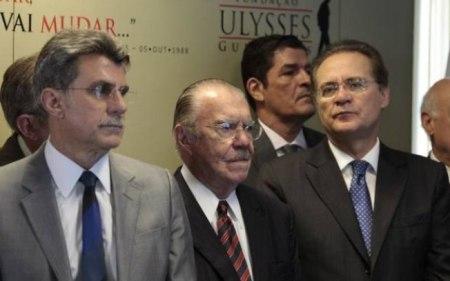 Sarney, Renan e Jucá