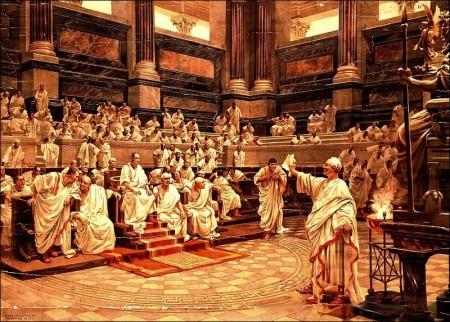 Senado Romano - cicero
