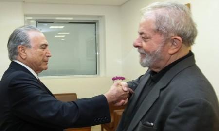 Temer e Lula
