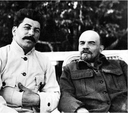 Stalin e Lenin
