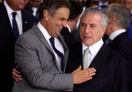 Michel Temer dá posse aos ministros de seu governo