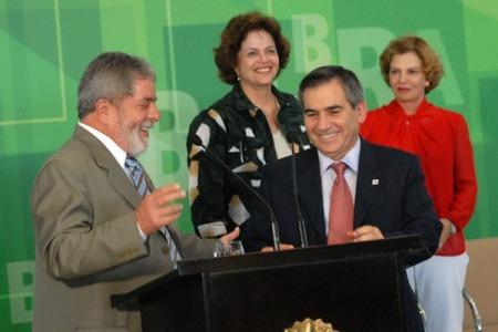 Gilberto e Lula