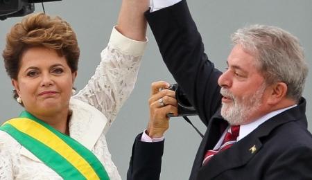 Dilma e Lula = posse