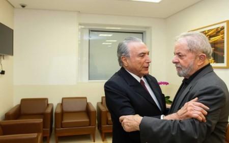 Temer e Lula 1